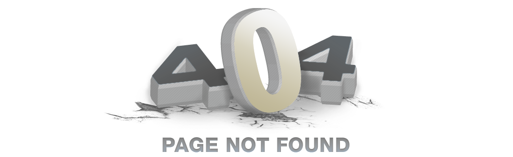 404 - Error - Page not found